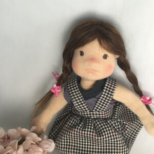 artystyczna lalka waldorfska