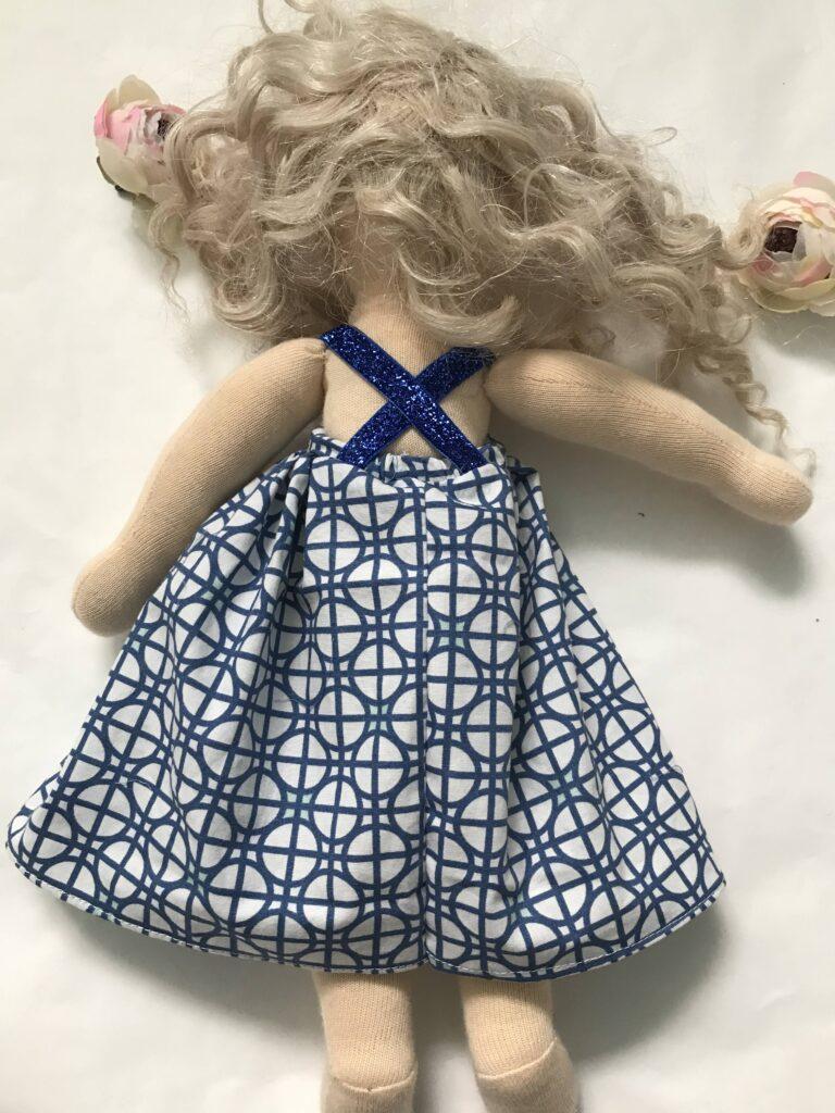 tutorial szycia sukienki dla lalki