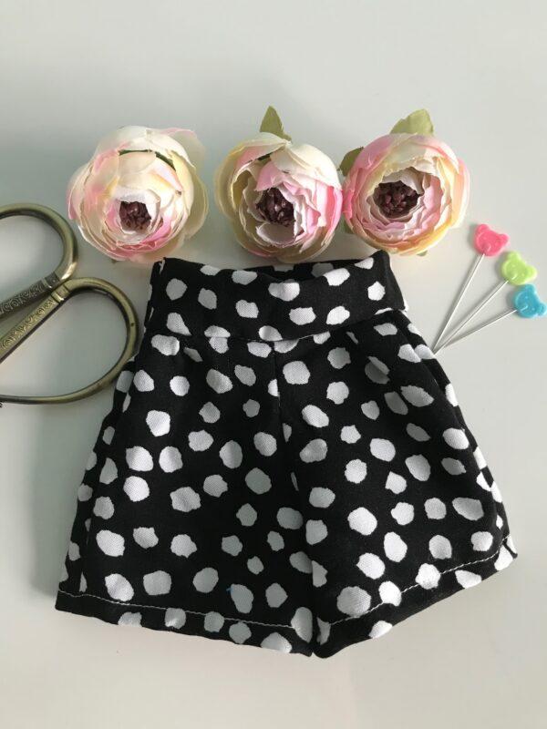 spodenki dla lalki